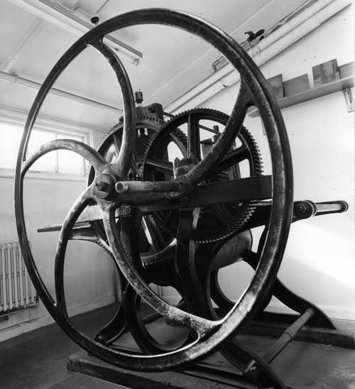 Huges & Kimber etching press