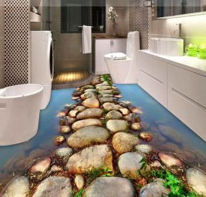 Delightful 23 Bathroom Floors Design Ideas That Will Change Your Life