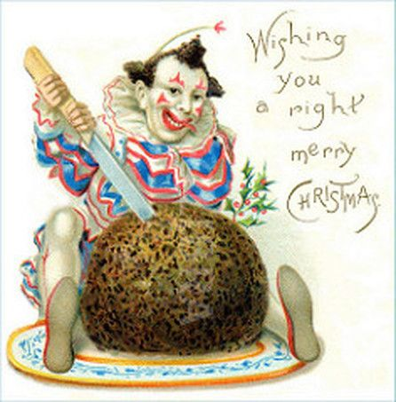 This has got to be the creepiest  Christmas card I've ever seen!