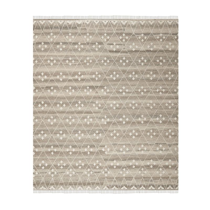 """Emily Henderson - """"Finding a high-quality inexpensive rug is no easy feat. Finding one that also comes in every size is near impossible, which is why this one is such a good find. The simple and classic pattern allows it to be timeless and transitional for many different styles, and the price makes it attainable at any budget. It's a win, win!"""""""
