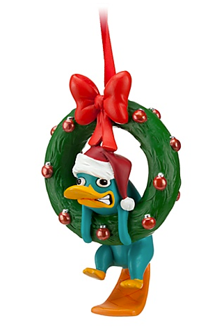 Personalized Phineas /& Ferb Perry the Platypus Christmas Ornament Gift Add Name