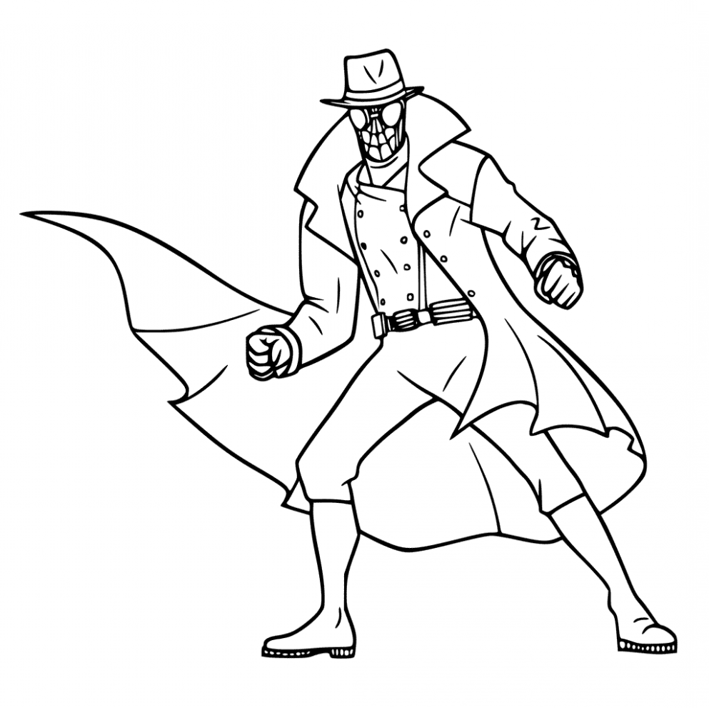 7 Ways On How To Prepare For Spider Man Noir Coloring Pages