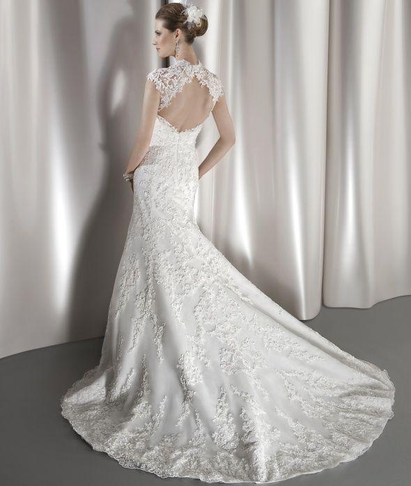 Cheap Wedding Dresses Mn: Ultra Sophisticates Style 1449 (back) By Demetrios