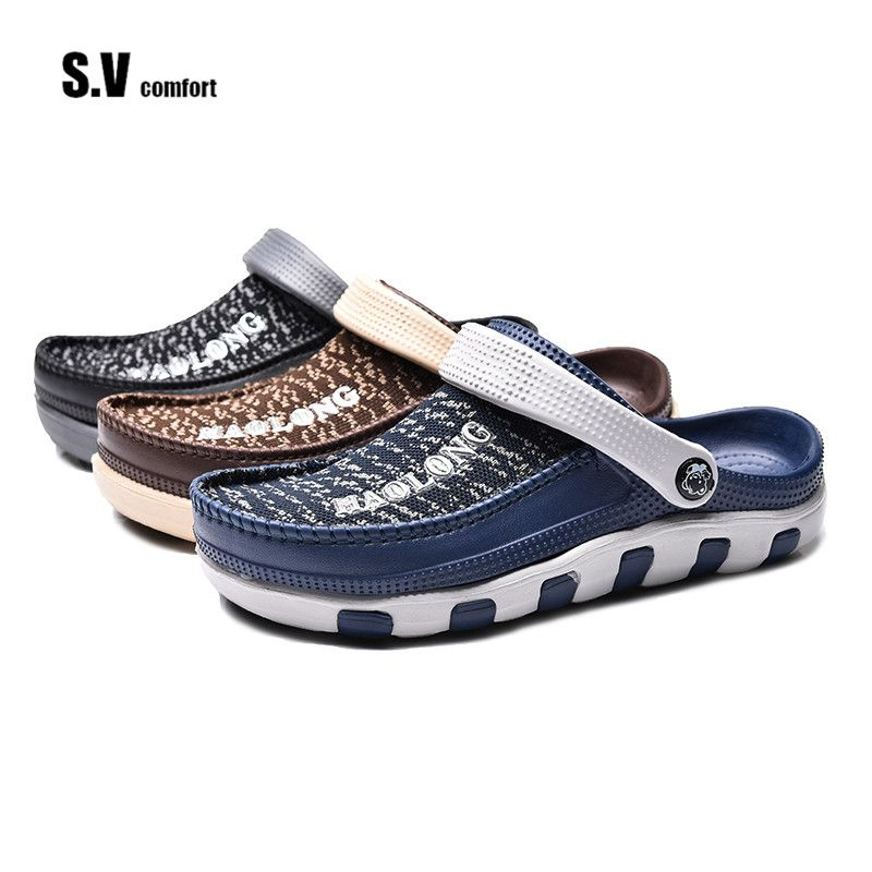 Men's Air Clog Shoes Sandals Slippers