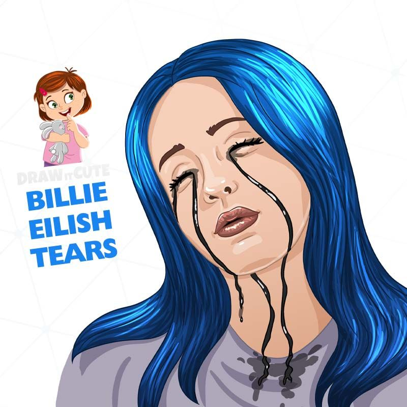 Billie Eilish Tutorial Draw It Cute Billie Eilish Billie