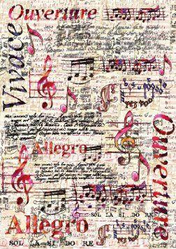 Feuille de d coupage musique music pinterest musique papier et papier musique - Feuille de musique a imprimer ...
