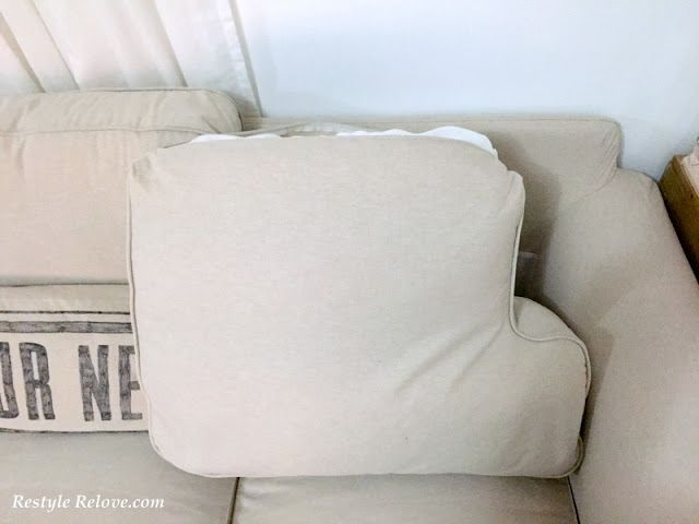 Updated How To Restuff Ikea Ektrop Sofa Back Cushions Sofa