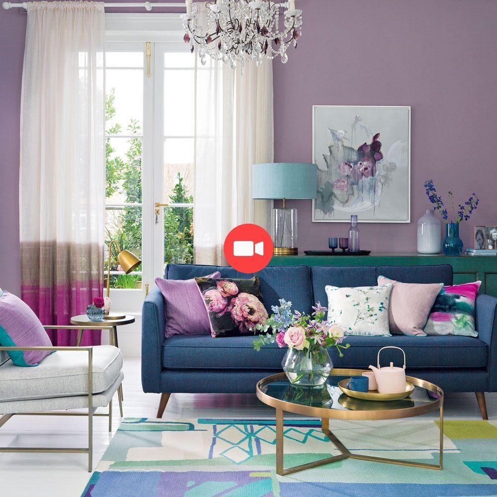 Violet Salon Idées, facile à vivre #facile #idées #vie #salon #ide