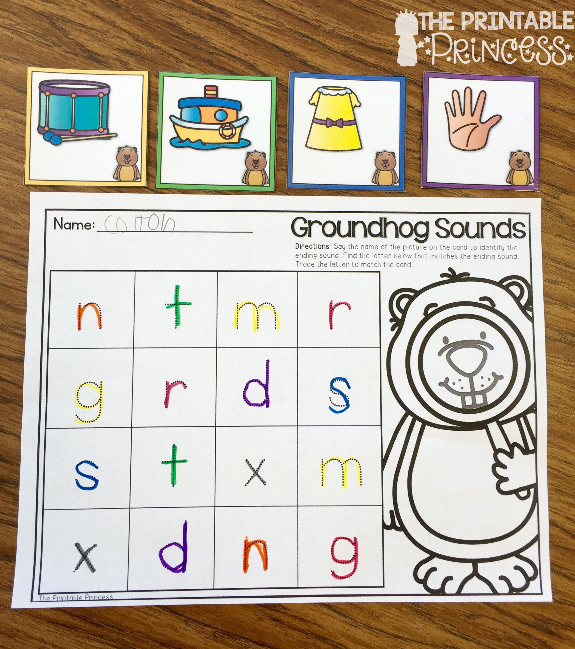 Kindergarten Groundhog Day Activities And Centers Math