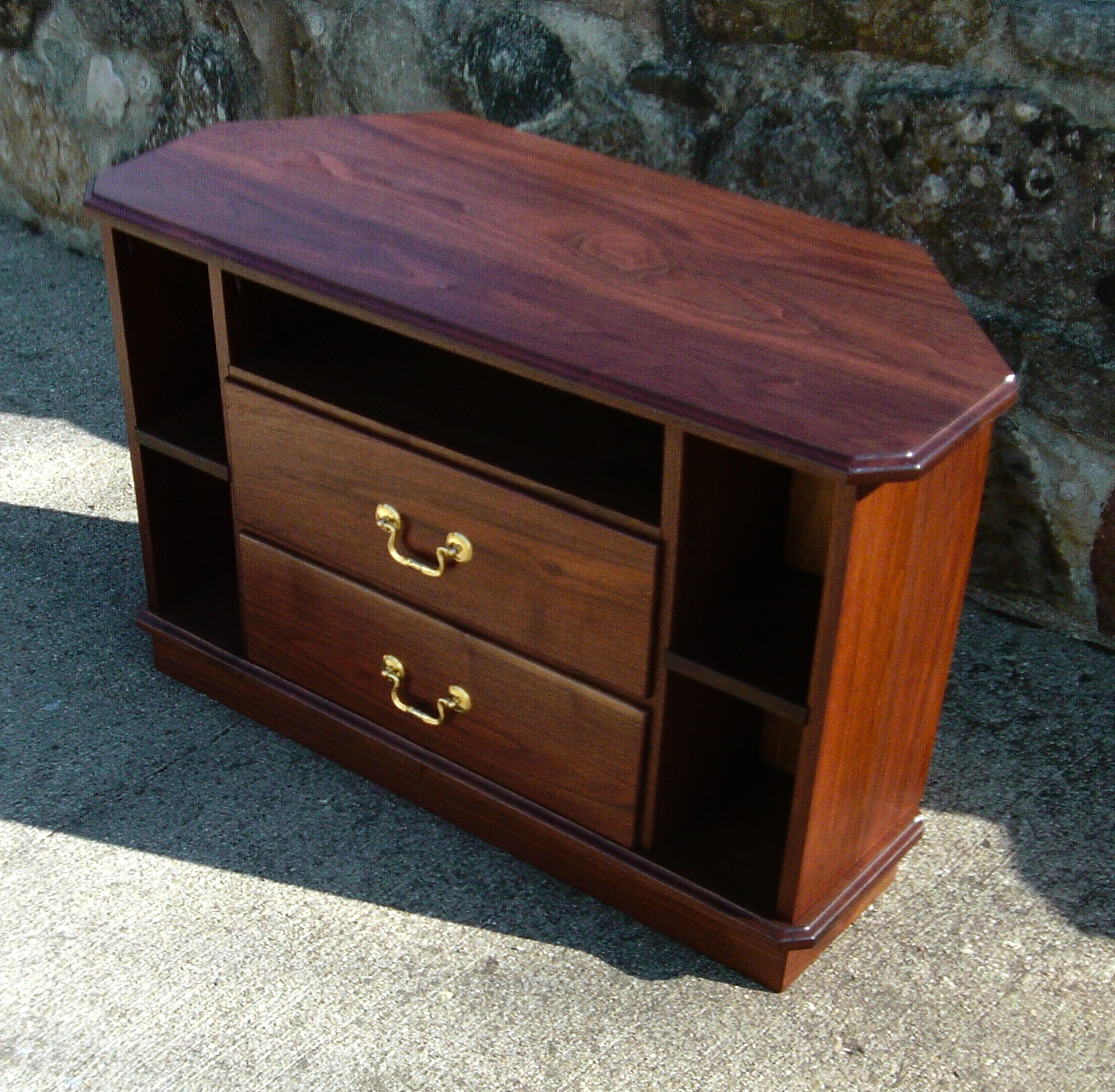 cabinet furniture cotswold tv oak king dvd rustic and drawers storage solid