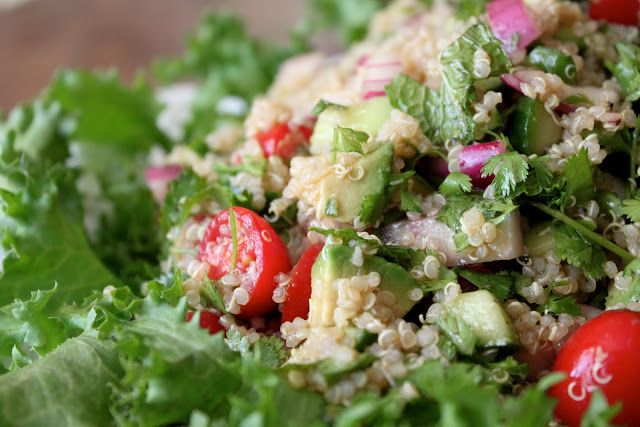 #ABKblendtecgiveaway A Bountiful Kitchen: Quinoa Salad