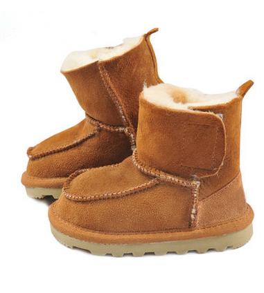 bebé botas,color marrón,