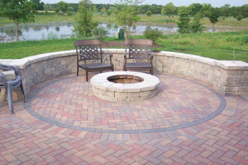 poured concrete patio design ideas Michigan Concrete Design