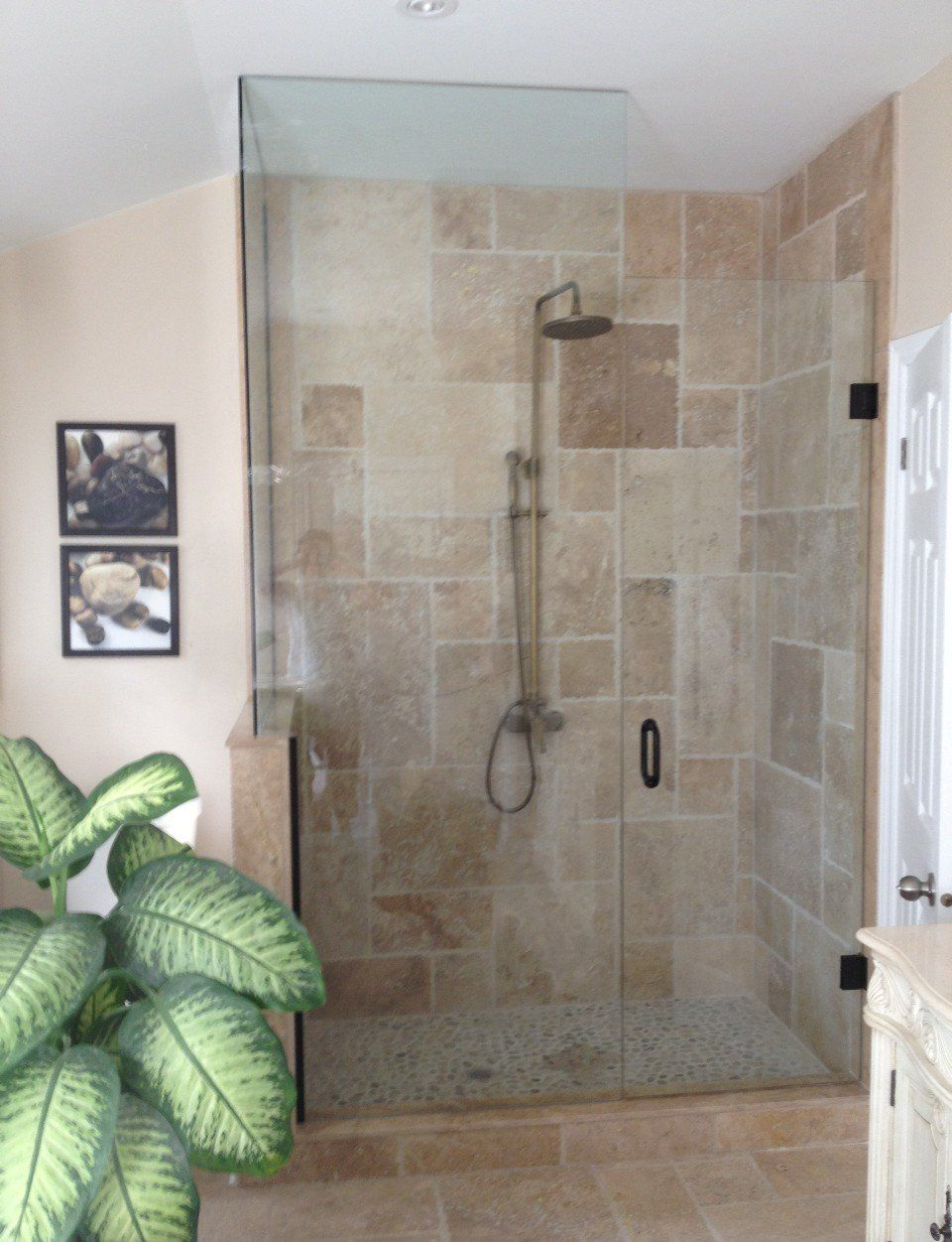 Lowe 39 s glass walk in shower designs bathroom shower Walk in shower designs