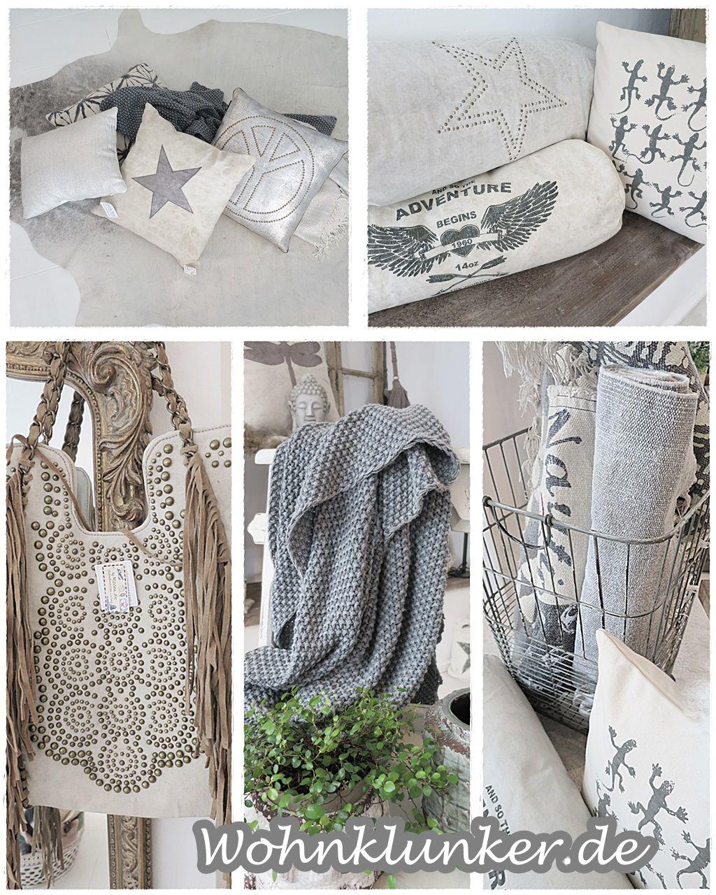 Wundervolle Kissen und Taschen der Firma Showroom sind eingetroffen ...