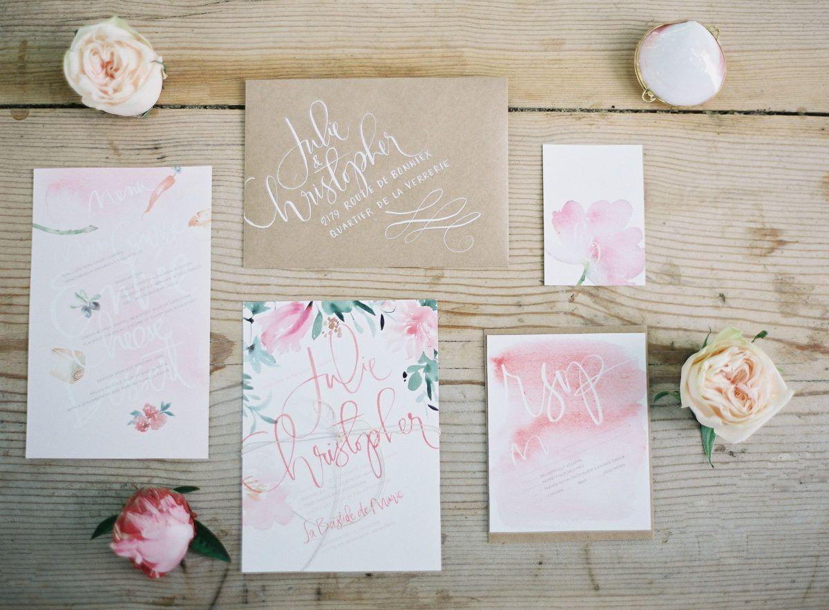 Provencal Bohemian Garden Wedding Inspiration