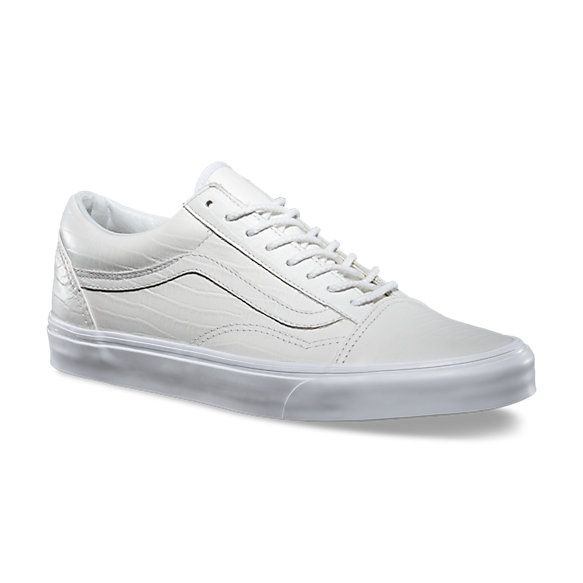 Croc Leather Old Skool Reissue CA   Shop California Shoes at Vans