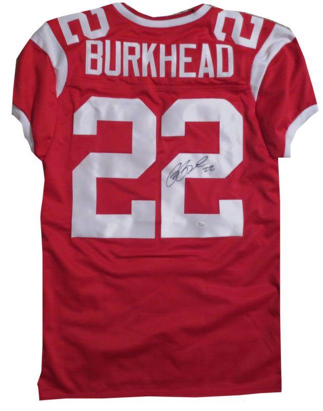 rex burkhead signed jersey
