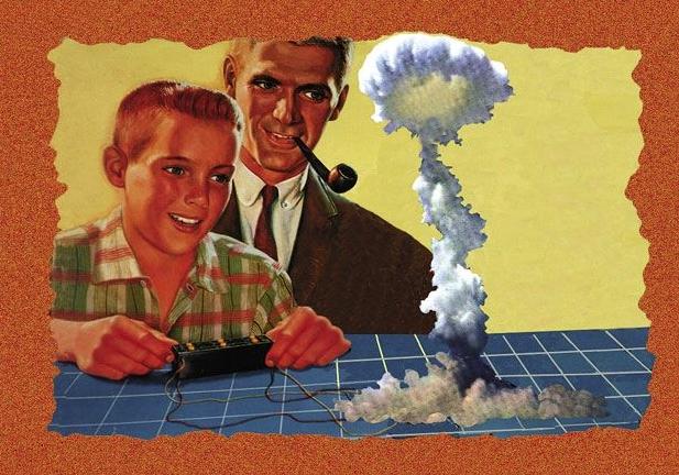 miniature atomic bomb blast kit