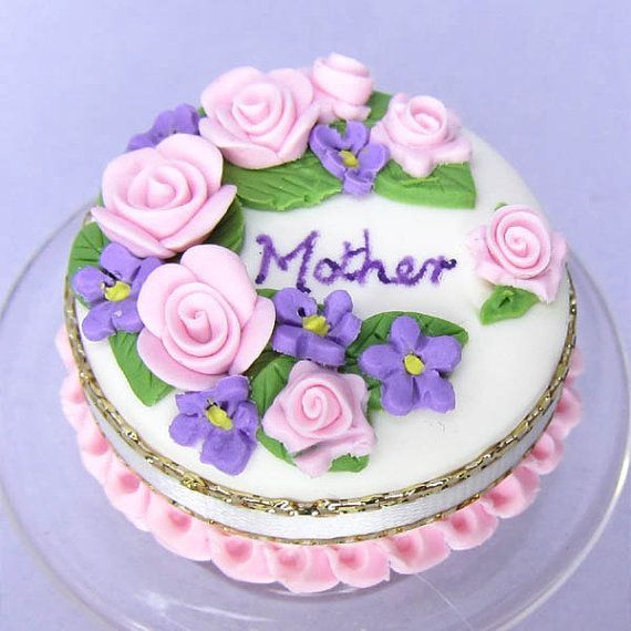 Mothers Day Cake Decoration With Images Mothers Day Cake