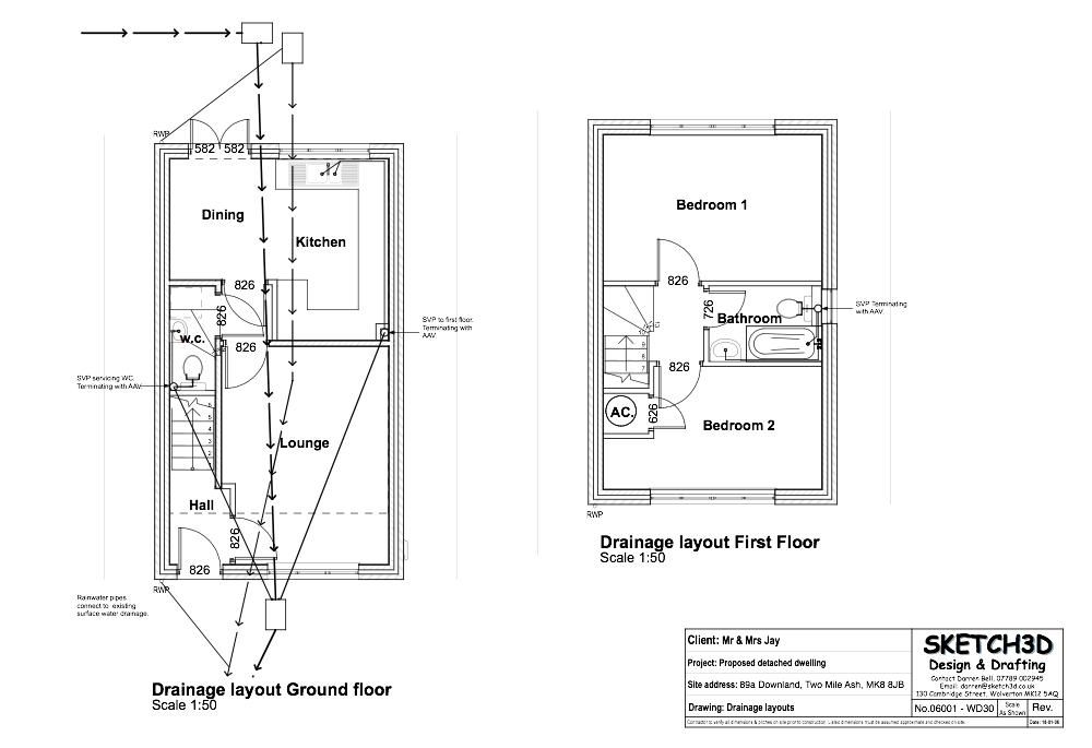 Your drainage plan is very important when building a home for Drainage drawings for my house