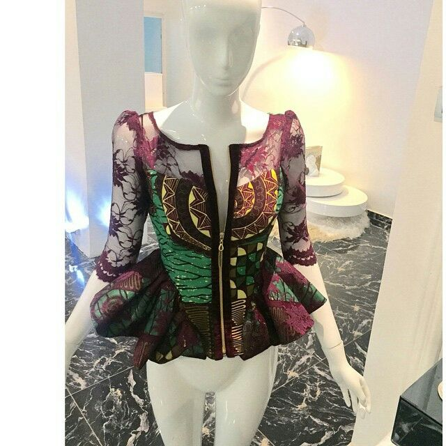 d68635049ad10 Ankara Styles Peplum For Beautiful Ladies - DeZango Fashion Zone