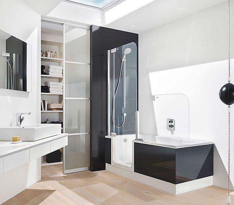 fabulous baos modernos pequeos con ducha y tina buscar con google with duchas de baos - Baos Con Ducha Y Baera