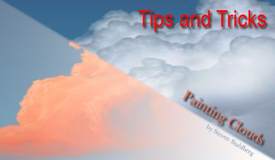 This short tutorial shows you how to digitally paint your own unique clouds with Photoshop though any paint program will do the same job.