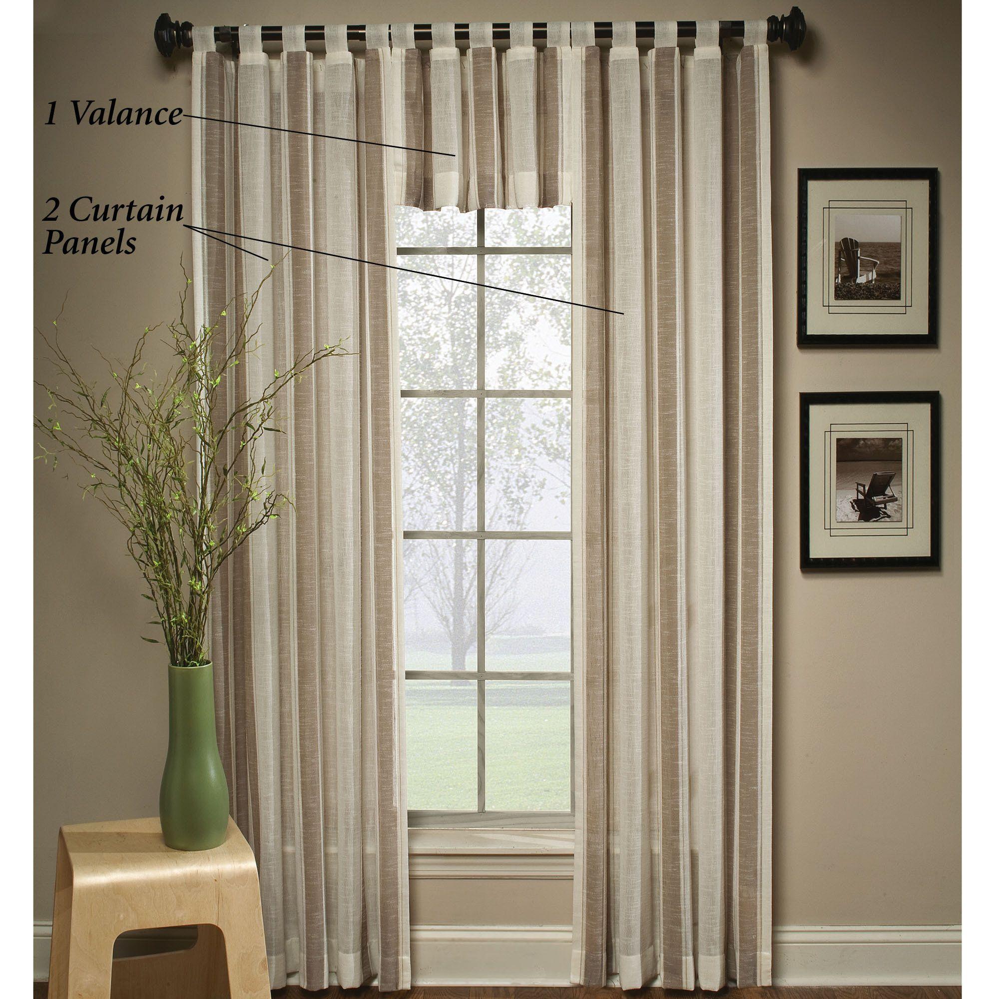 Inexpensive Kitchen Curtain Ideas: Window Treatment Ideas Uncategorized Nice Looking Brown