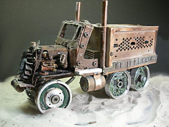 Steampunk Truck Inspired by Mad Max Thundedome people