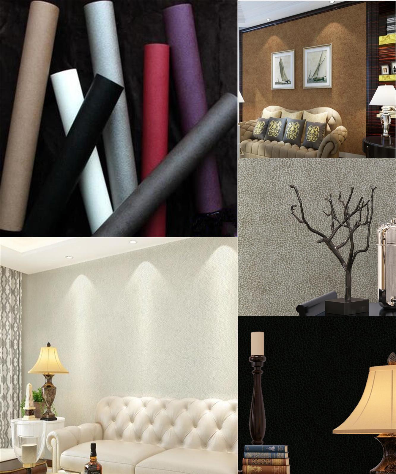 [Visit To Buy] Beibehang Simple Modern Fake Stripe Color