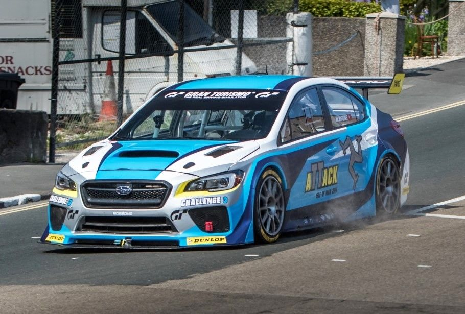 Subaru WRX STI Time Attack car shatters Isle Of Man TT Course lap ...