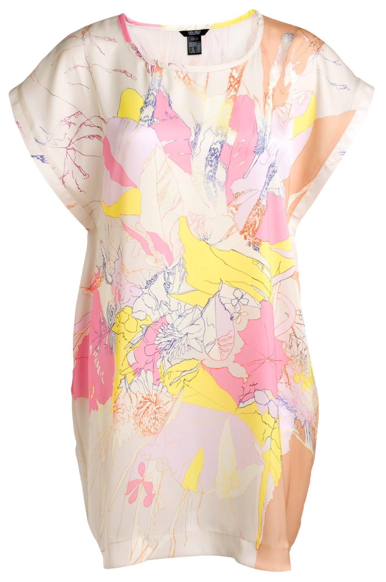 Sara Kelly Nowa Sukienka Mini Oversize 38 40 M L 7382399837 Oficjalne Archiwum Allegro Moda Boho Vintage Boho Flower Dresses