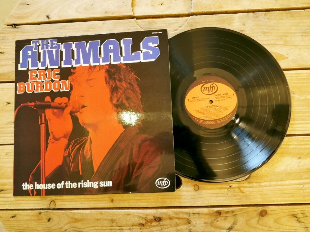 THE ANIMALS HOUSE OF THE RISING SUN LP 33T VINYLE EX COVER