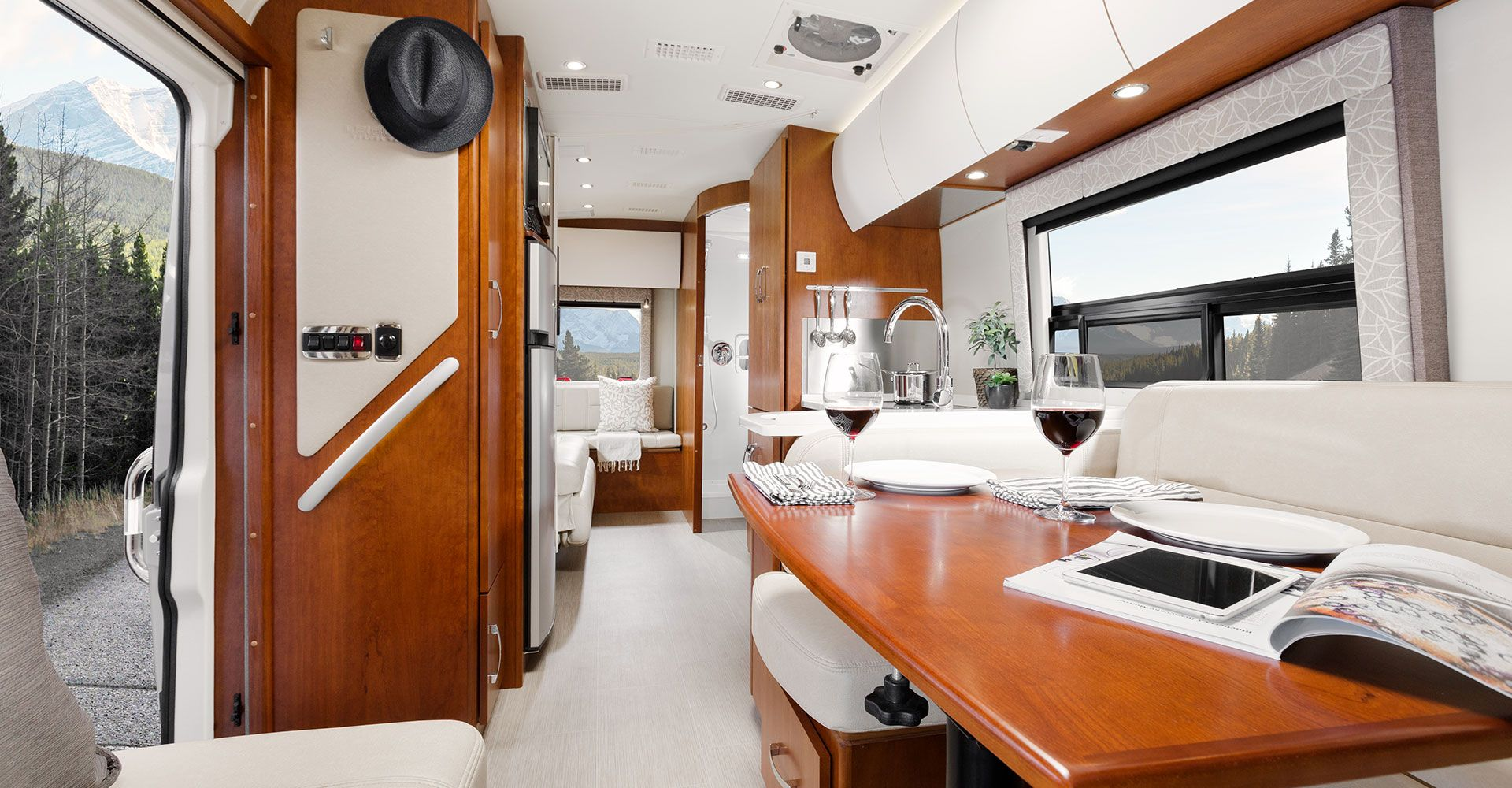 Explore The Serenity Class C RV By Leisure Travel Vans See Photos Videos