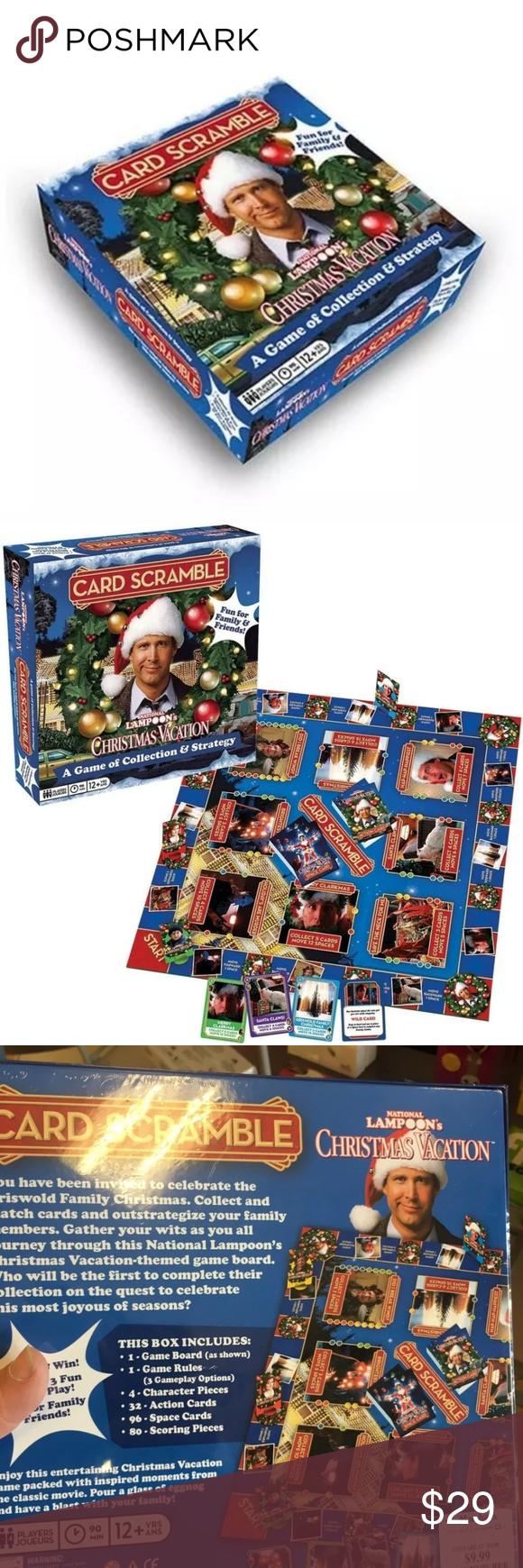 National Lampoon Christmas Vacation Card Scramble National