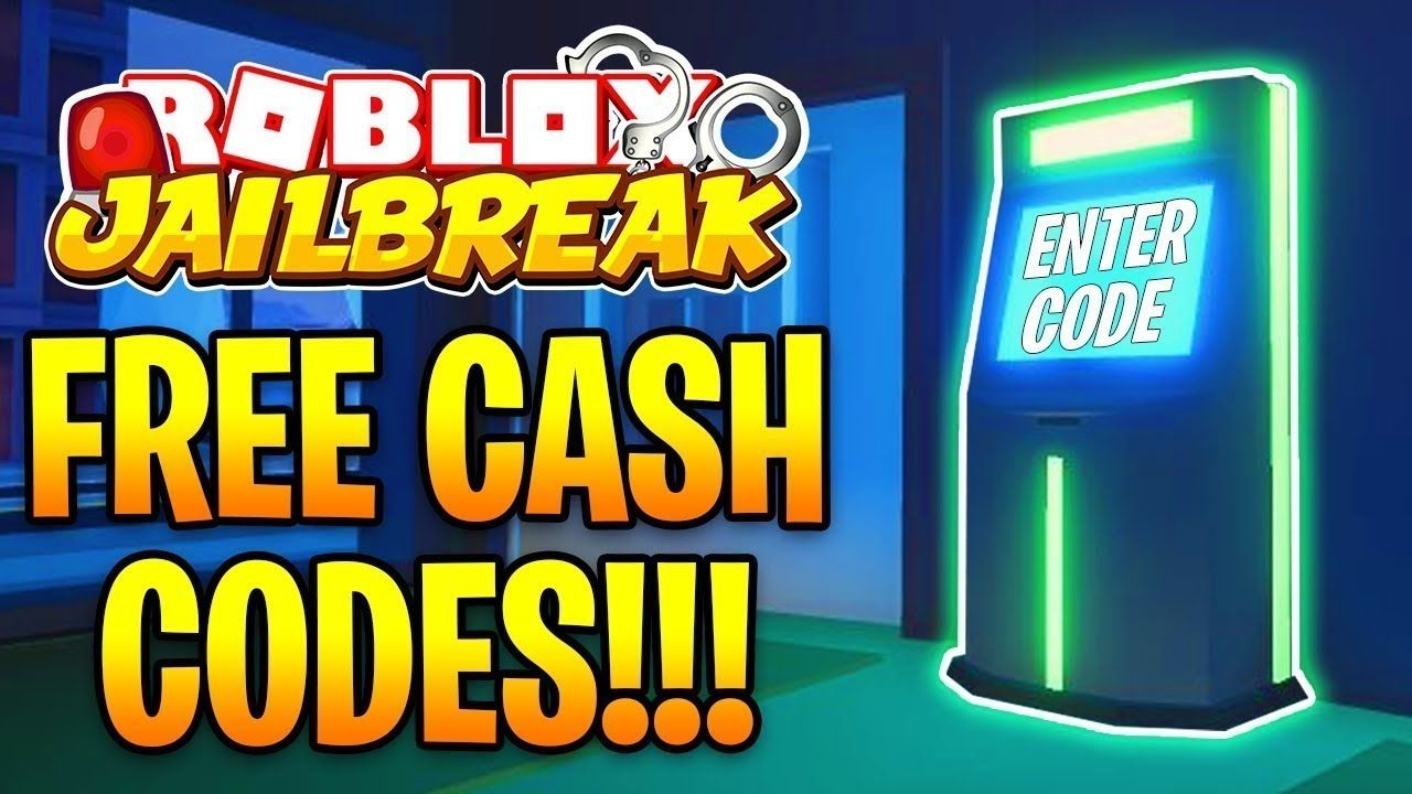 New Cash Code In Jailbreak Roblox Roblox Free Cash Coding