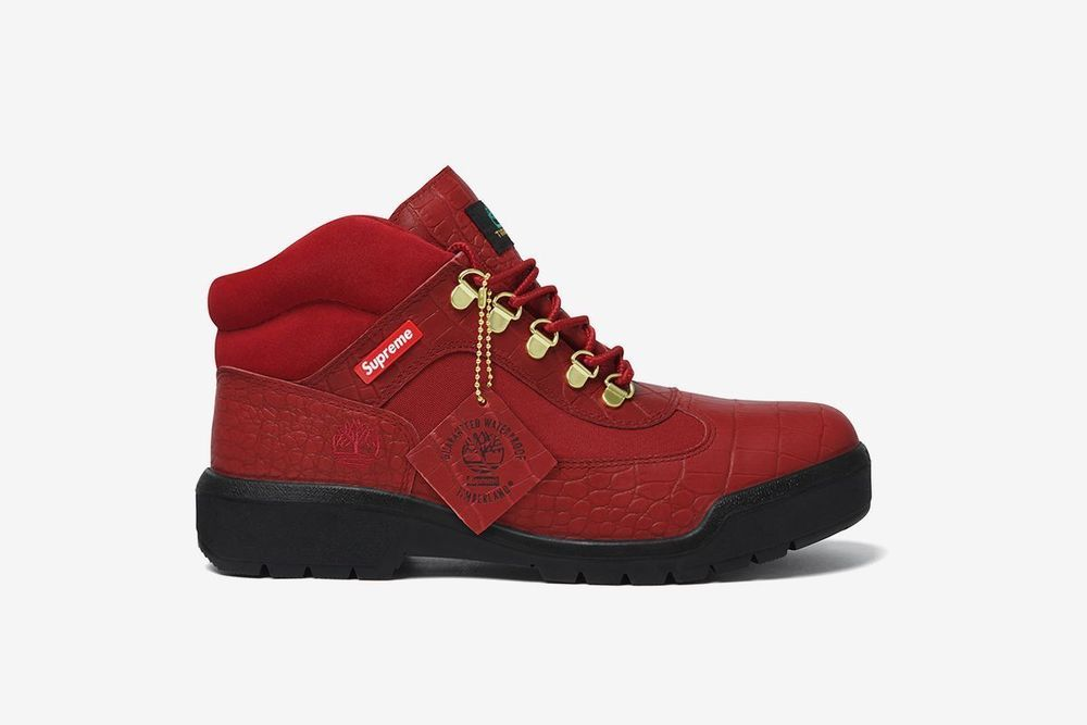 BRAND NEW  TIMBERLAND SUPREME BOOT SIZE 9.5 RED #Timberland #AnkleBoots