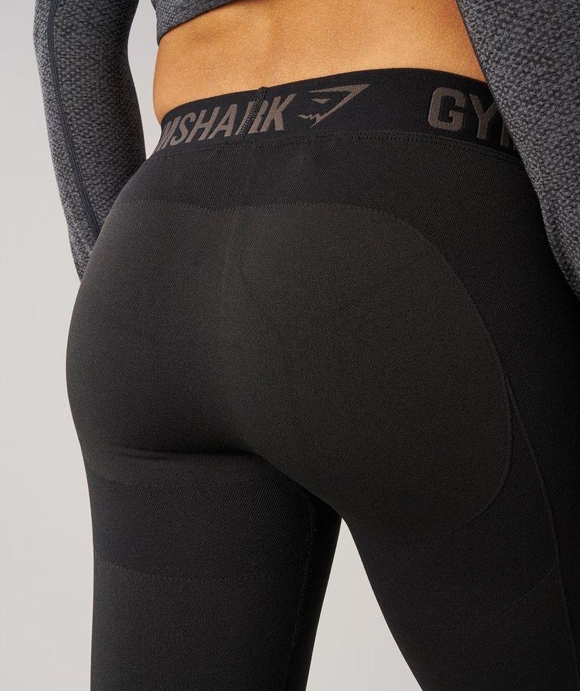 cf9672ca95ba80 Gymshark Flex Cropped Legging Black Marl / Charcoal - XS NWT - SOLD OUT  #fashion