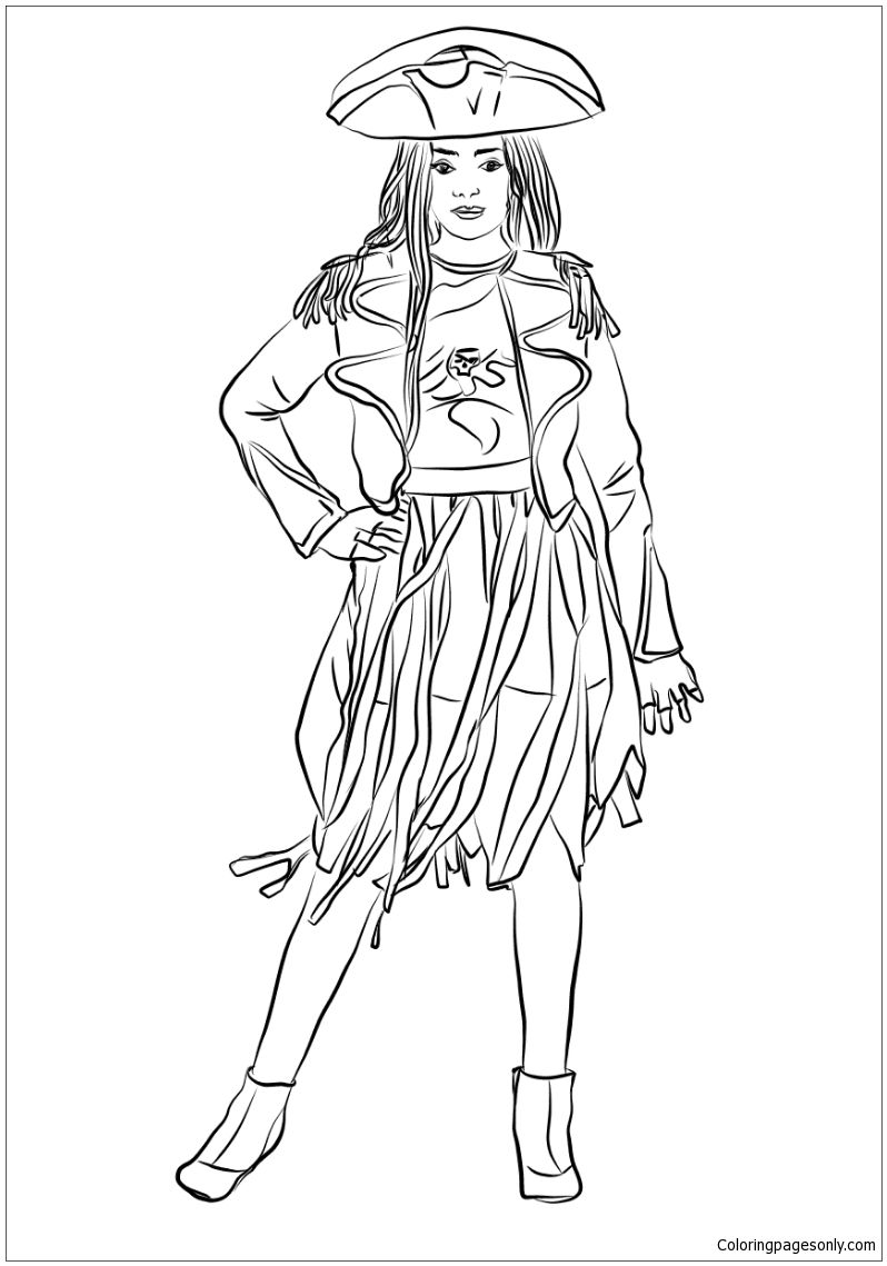 It's just an image of Stupendous Descendants 2 Coloring Pages Printable
