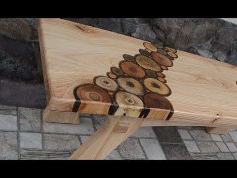 Ash Bench Youtube In 2020 Homemade Furniture Wood Projects Wood