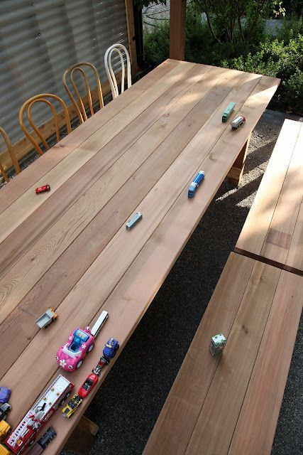 10 Foot Table Diy Patio Table Patio Table Table