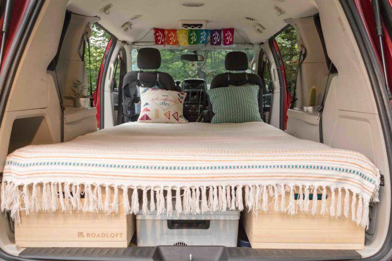 Grand Caravan Camper Conversion Bed Camper Conversion Minivan