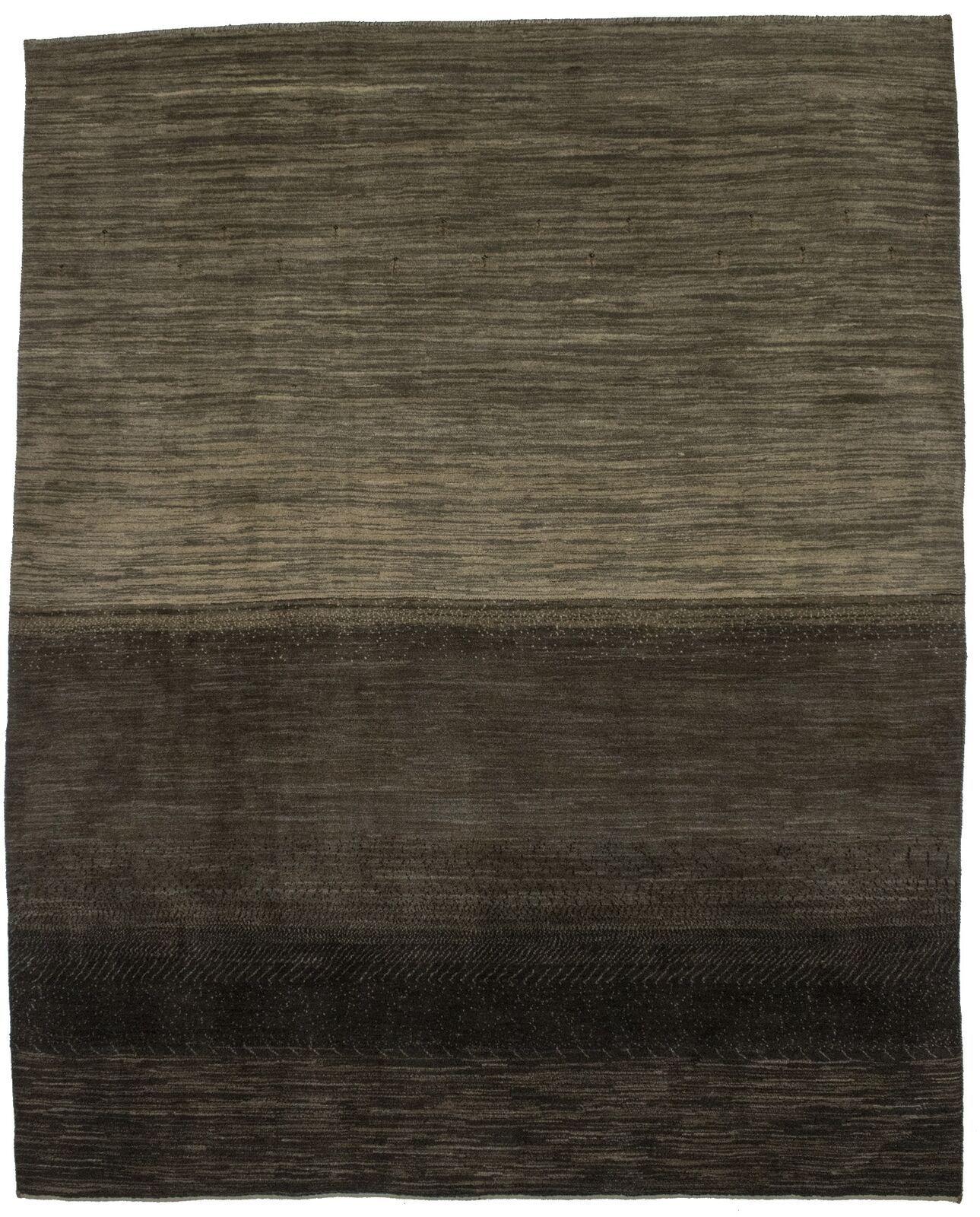 Modern Gabbeh Handmade 7x9 Contemporary Area Rug Oriental Decor