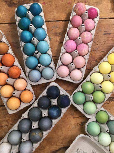 Egg Dyeing Kits: Dyeing Easter Eggs, The Natural Way