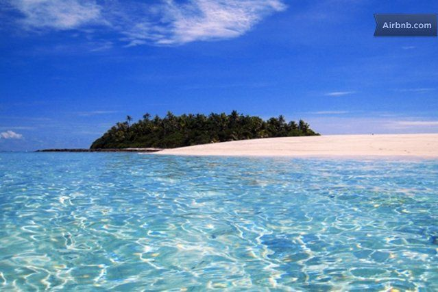 Alone on your own Fiji Island