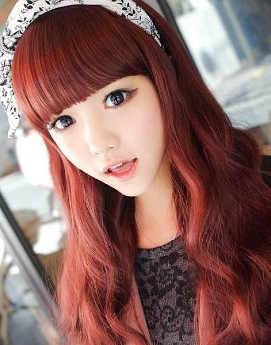 Stylish Copper Red Hair Dye Women Hairstyles Ideas