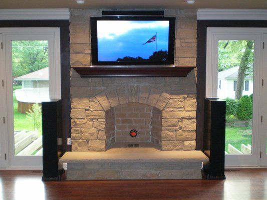 Deluxe Home Theater Installation with Def Tech Speakers, Denon ...