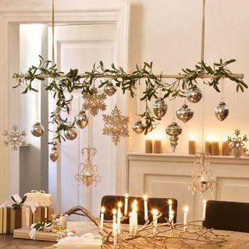 Hanging Branch Deco Noel Idee Deco Noel Et Decoration Noel