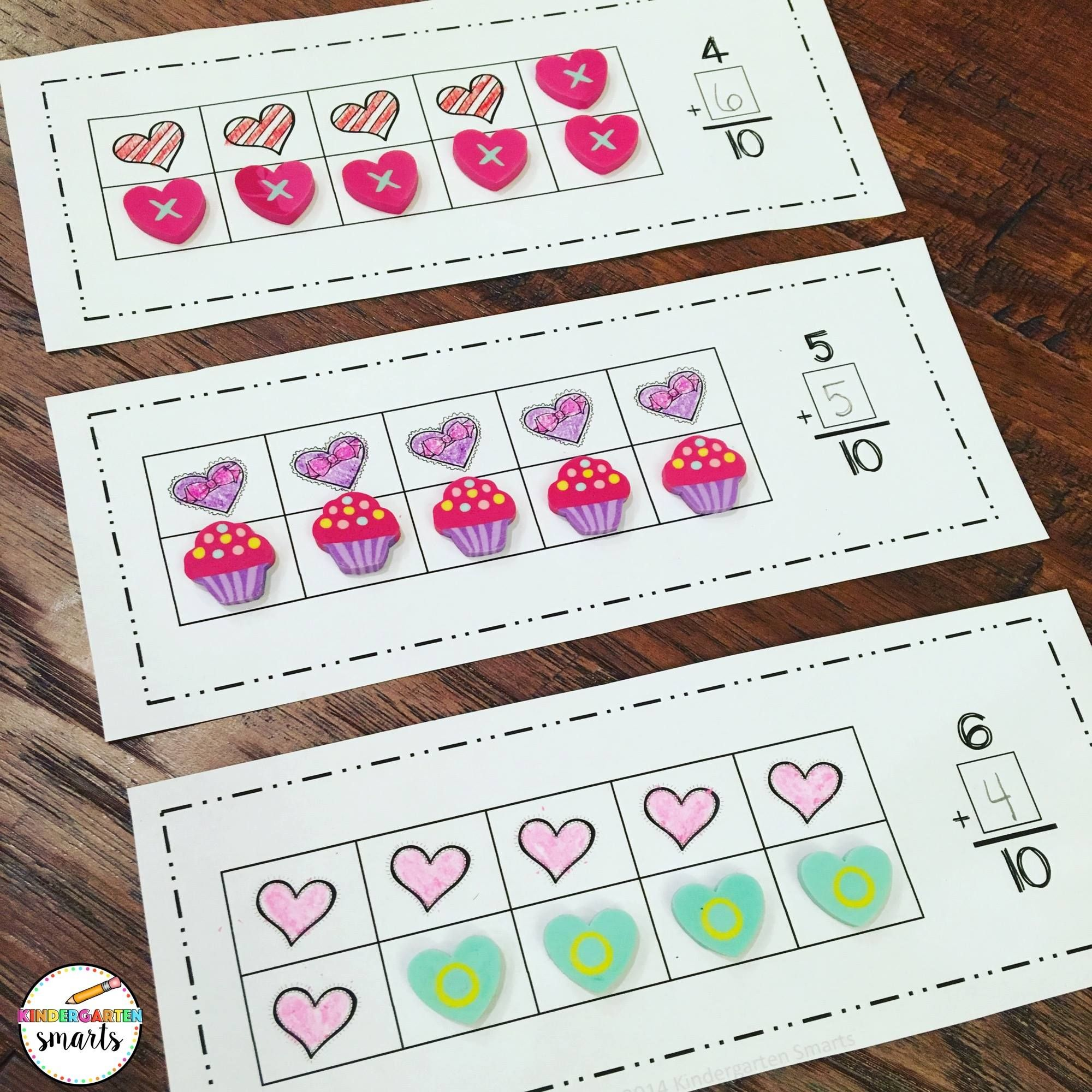Valentine S Day Centers Math Amp Literacy Activities For